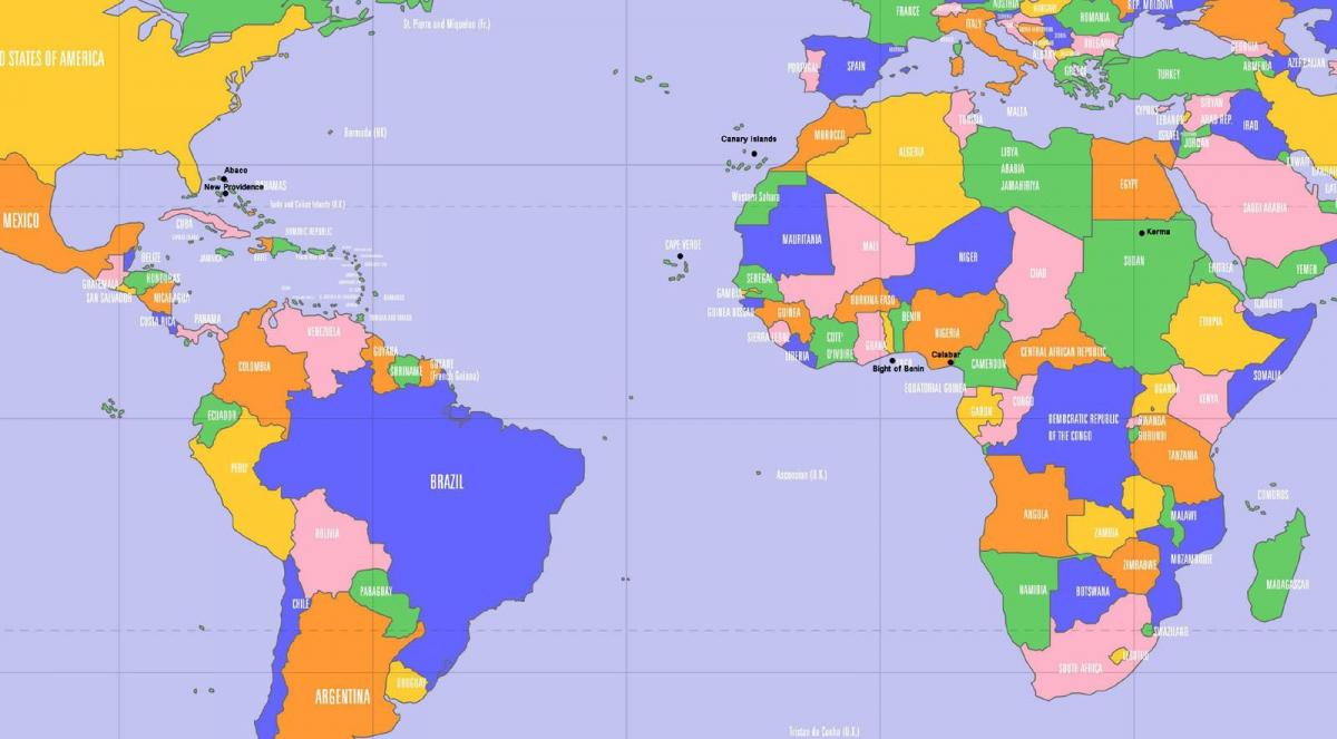 Cape Verde location on world map